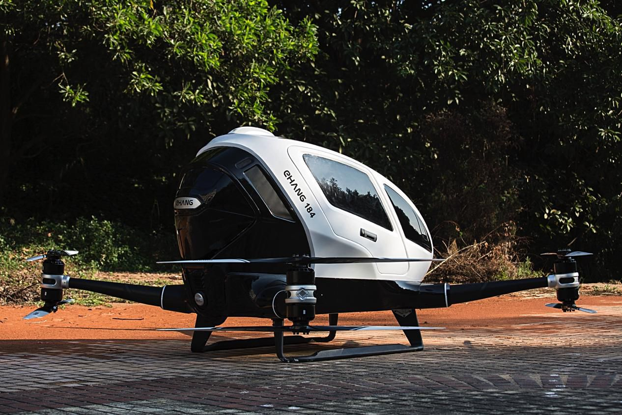 Ehang S Autonomous Helicopter Promises To Fly You Anywhere