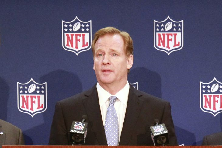 Roger Goodell's history of favoritism, ambition and mooning