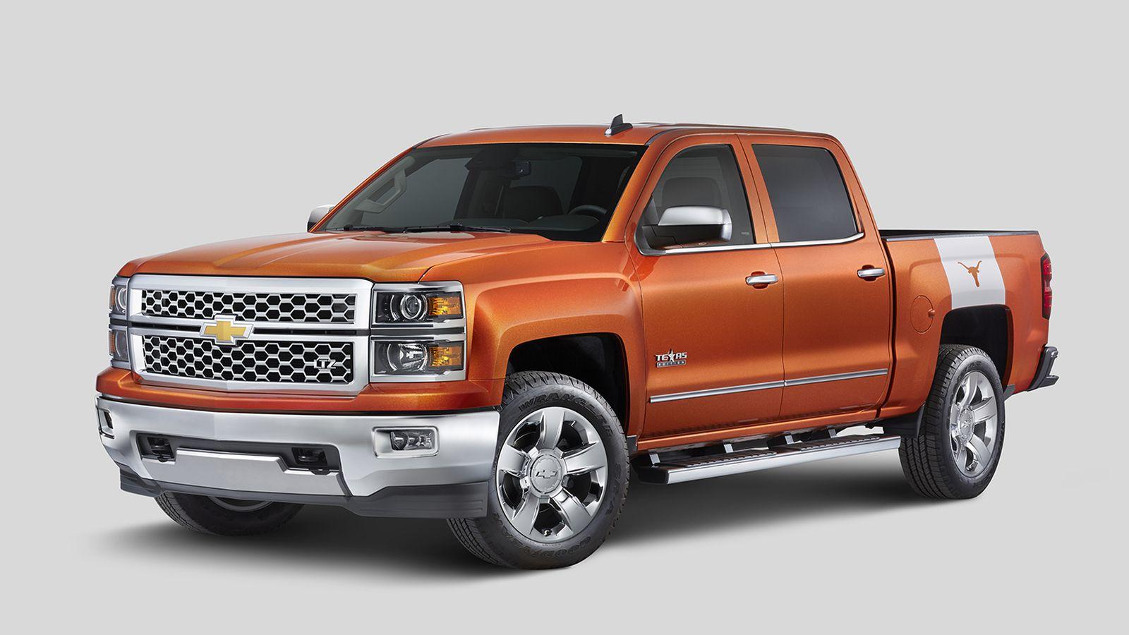Chevrolet releasing Texas Longhorns Silverado edition ...