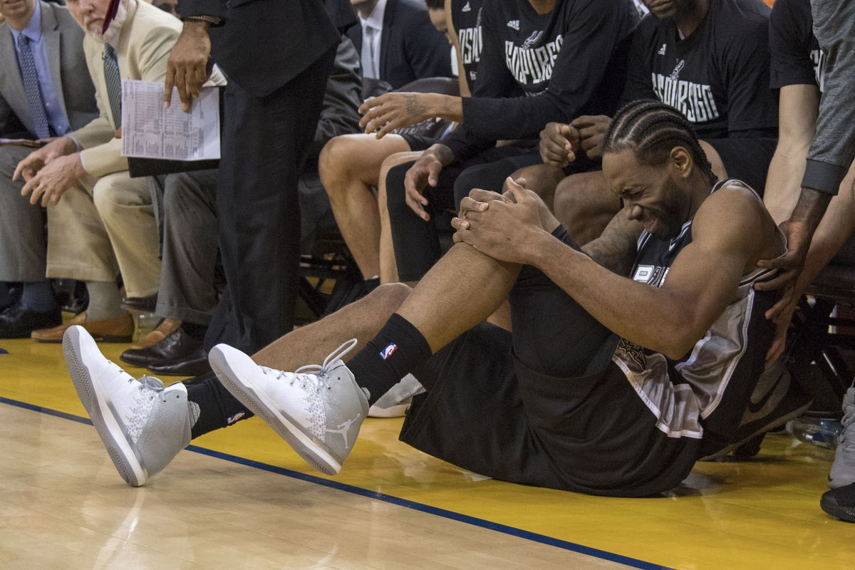 Kawhi Leonard is out for Spurs-Warriors Game 3 with ankle injury
