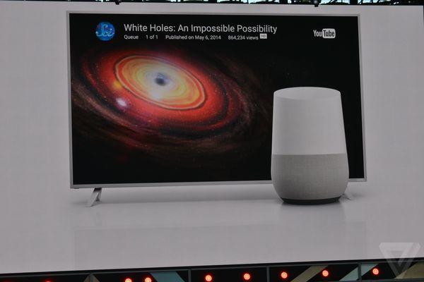 Google Home at Google I/O 2016 photos
