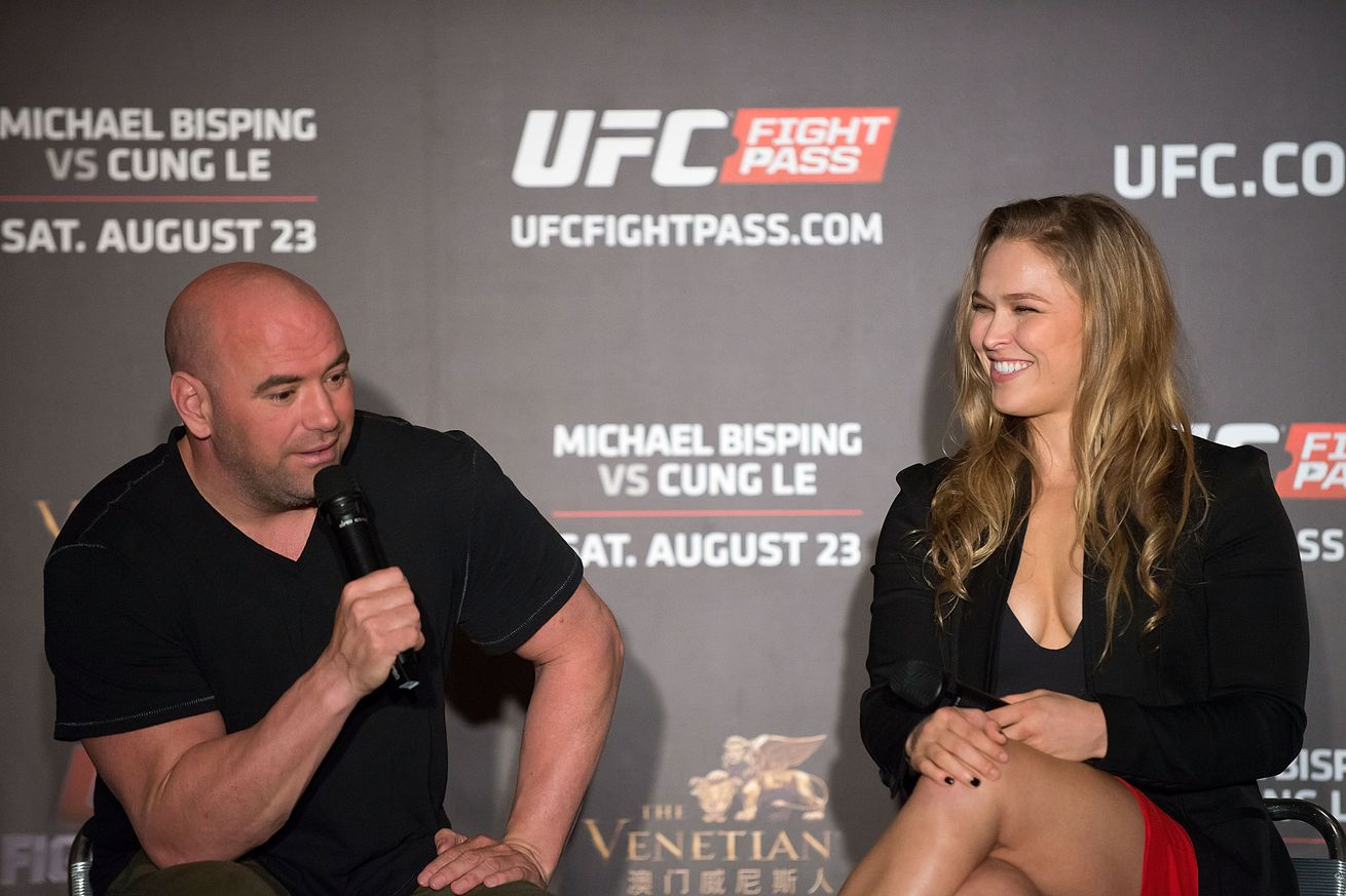 Dana White shoots down theories that Ronda Rousey had mental issues ahead of UFC 207