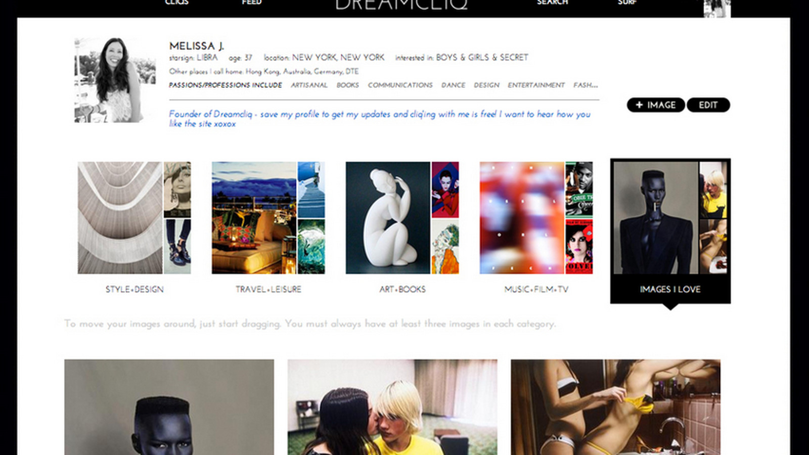 Meet Dreamcliq, the Pinterest of Dating Sites - Racked