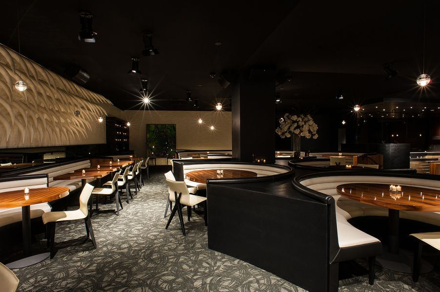 Stk is westwood 39 s newest clubby steakhouse eater la for W hotel in room dining menu