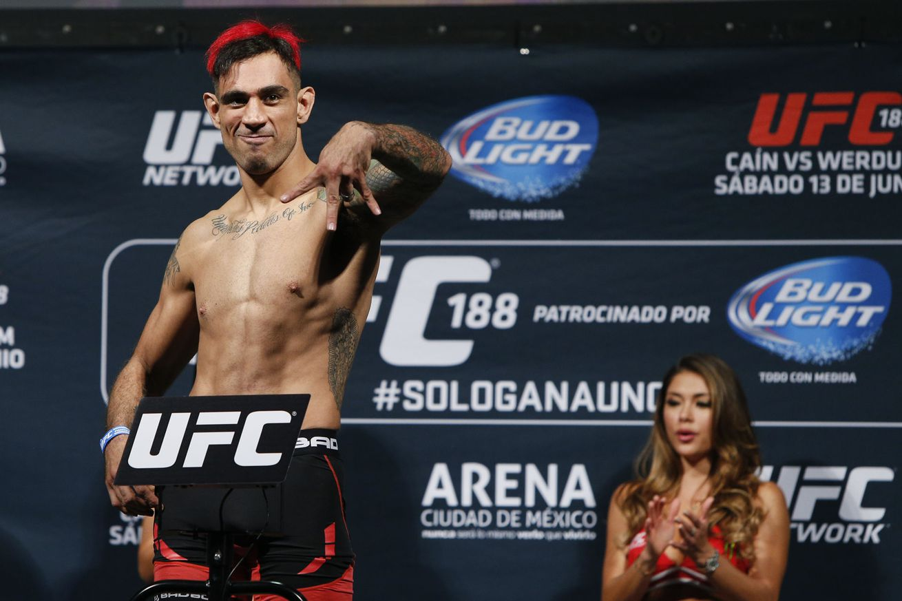 USADA won't sanction UFC's Augusto Montano for testing positive for clenbuterol