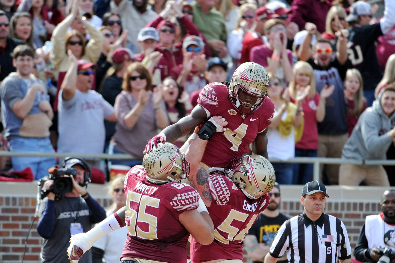 No. 3 Florida St. routs depleted Charleston Southern, 52-8