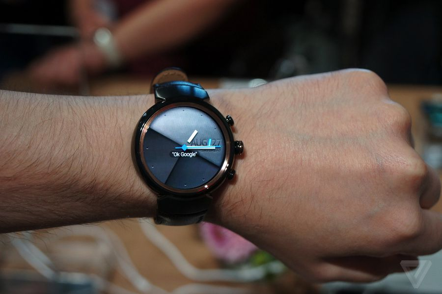 the asus zenwatch 3 is android wear d j vu the verge. Black Bedroom Furniture Sets. Home Design Ideas