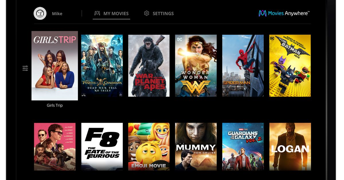 Hollywood studios join Disney to launch Movies Anywhere digital locker service