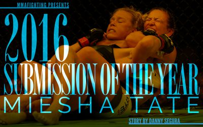 community news, MMA Fighting's 2016 Submission of the Year: Miesha Tate chokes out Holly Holm