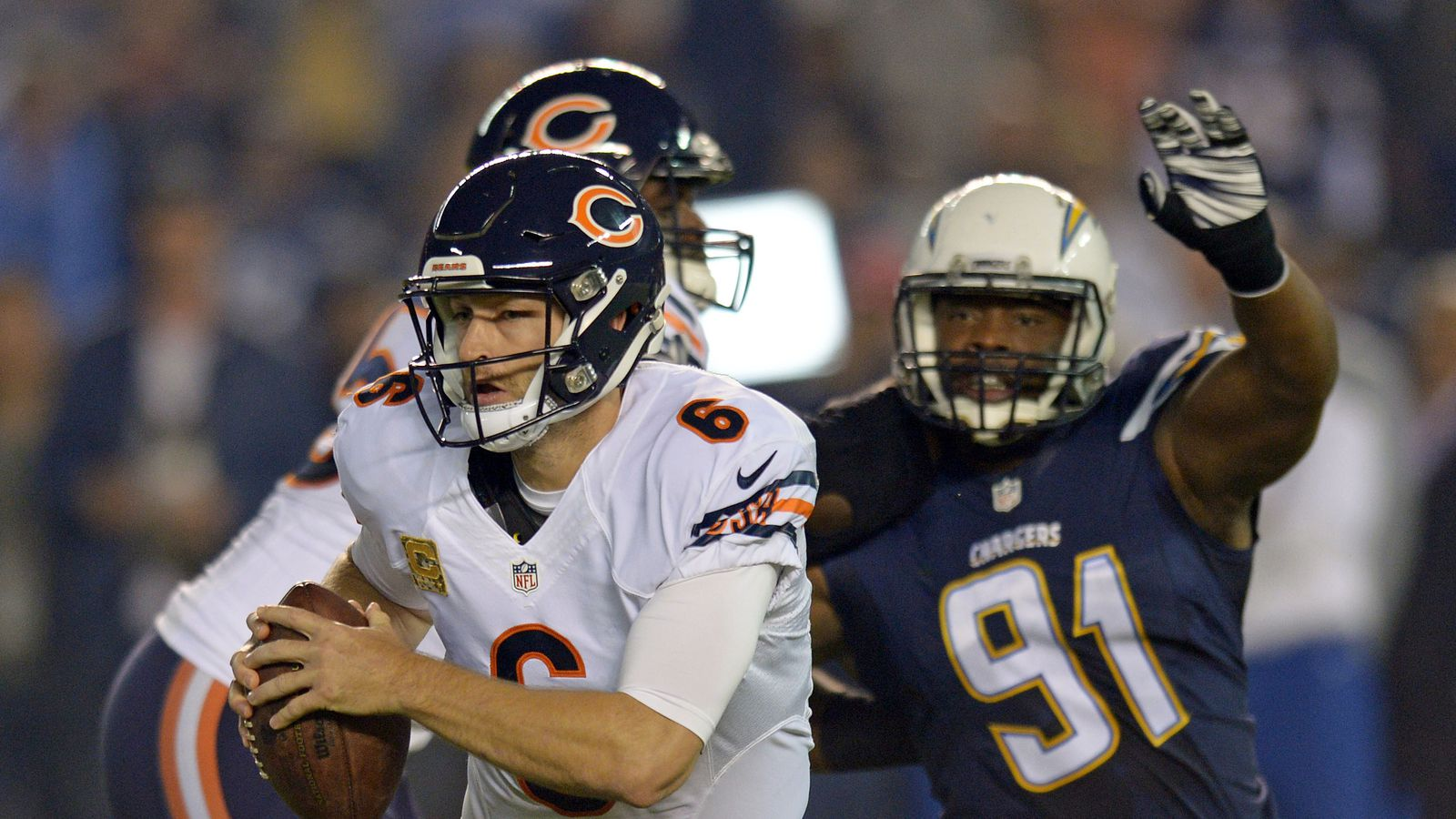 Chicago Bears Passing Records Jay Cutler Surpasses Sid