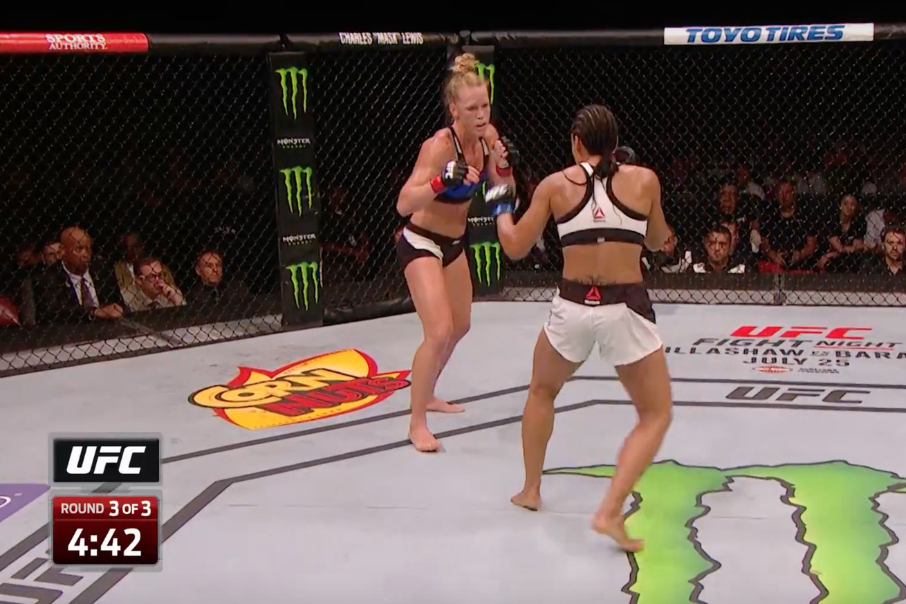 Holly Holm vs. Marion Reneau full fight video