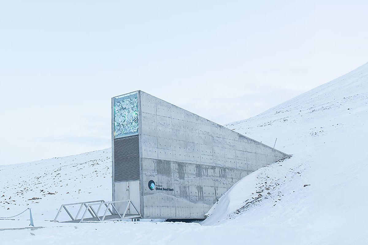 Climate change Melting permafrost has flooded the global seed vault