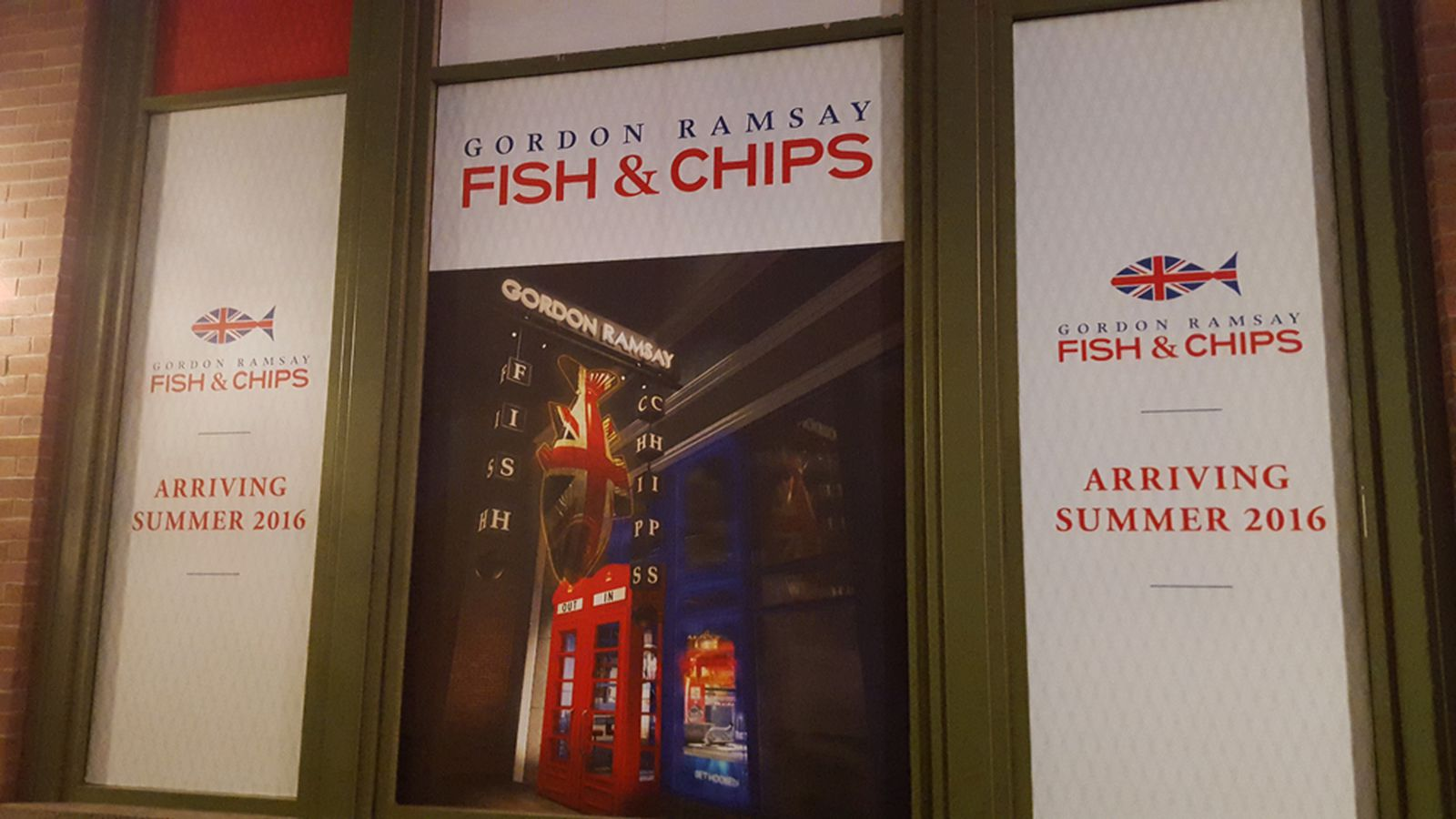 Updates on Dining at the Linq and Gordon Ramsay Fish & Chips - Eater Vegas