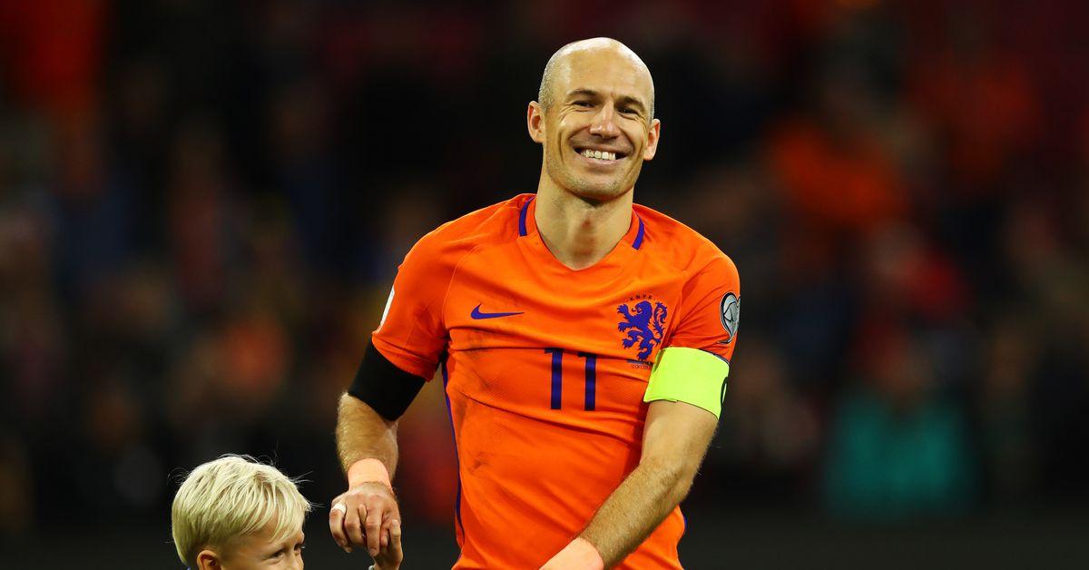 Arjen Robben retires from Netherlands after wicked golazo ...  |Arjen Robben
