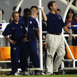 Bruce Arena leads USMNT in 2002 World Cup