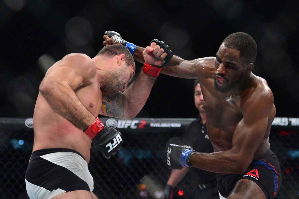 Left hand starting to feel right for UFC contender Jimi Manuwa