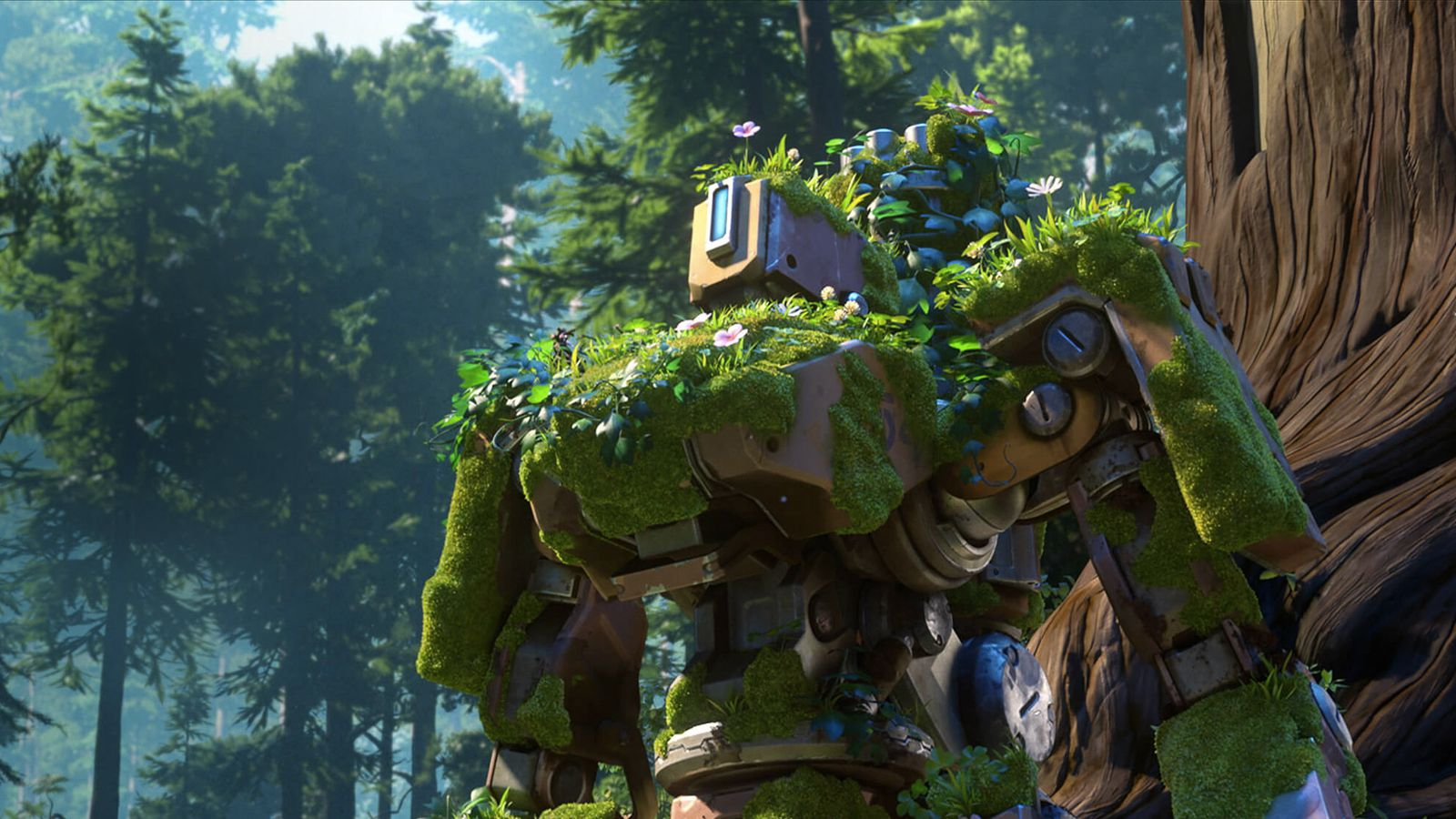 Watch overwatch 39 s new animated short 39 the last bastion 39 polygon - Bastion wallpaper ...