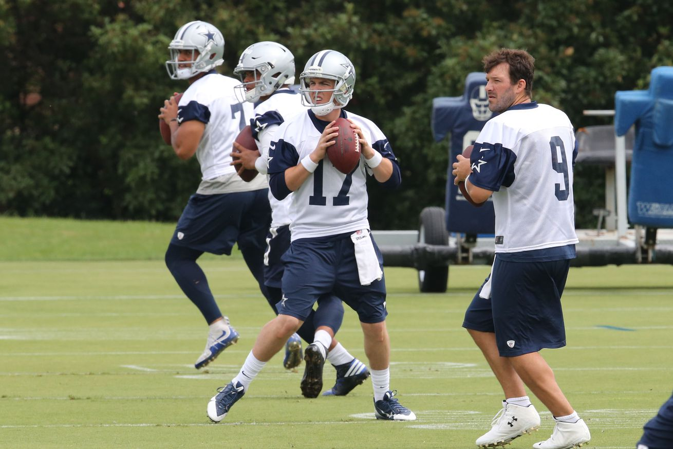 NFL Jerseys Outlet - Cowboys Camp Battles: Finding The Smart Choice For Backup ...