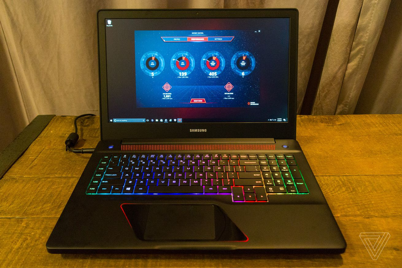 Samsung gets into the gaming PC game with odious Odyssey laptops