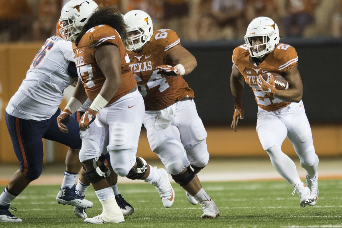 Texas coach Tom Herman is very particular about urine color