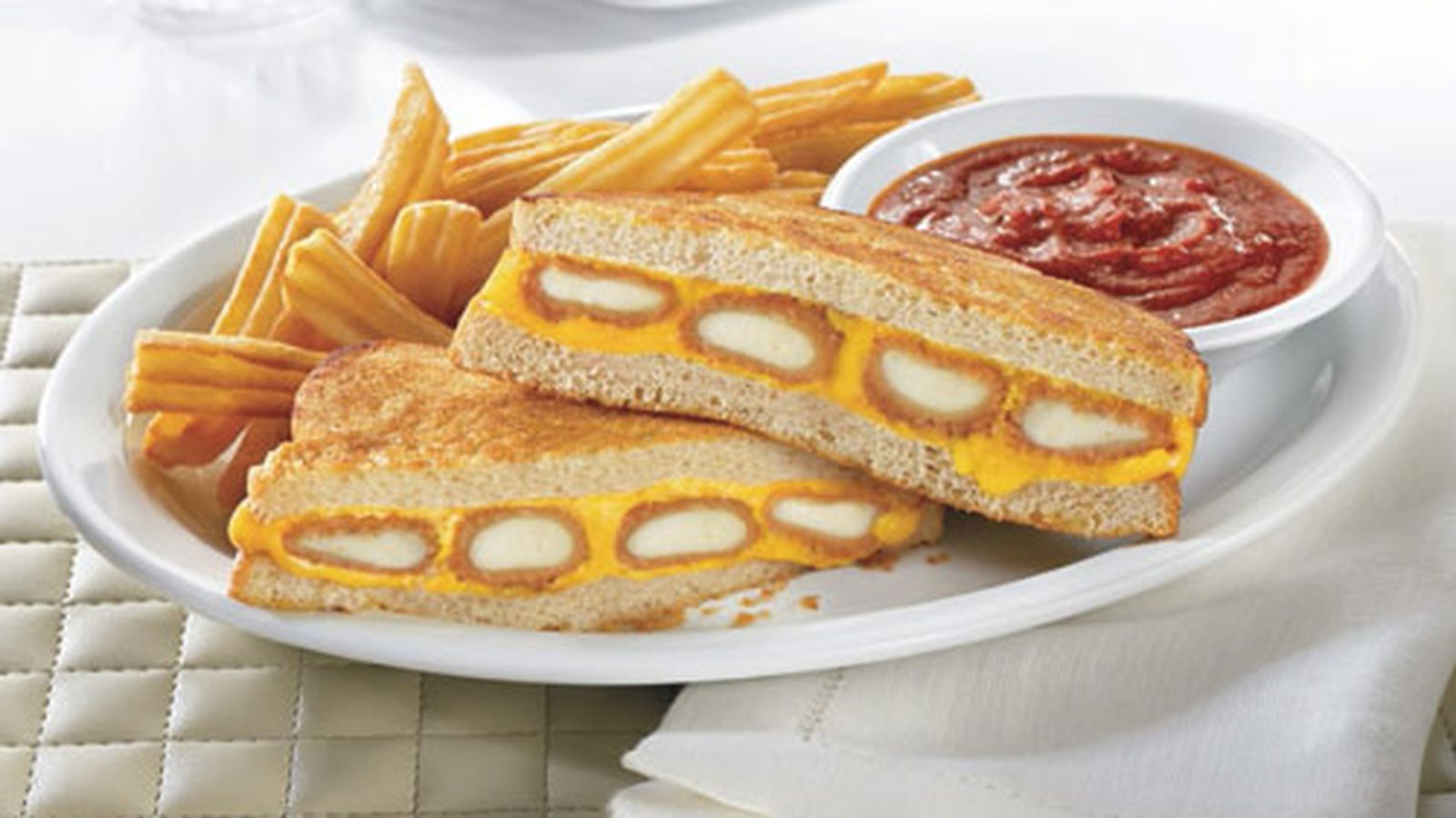 Baked Fish Sandwich Fast Food