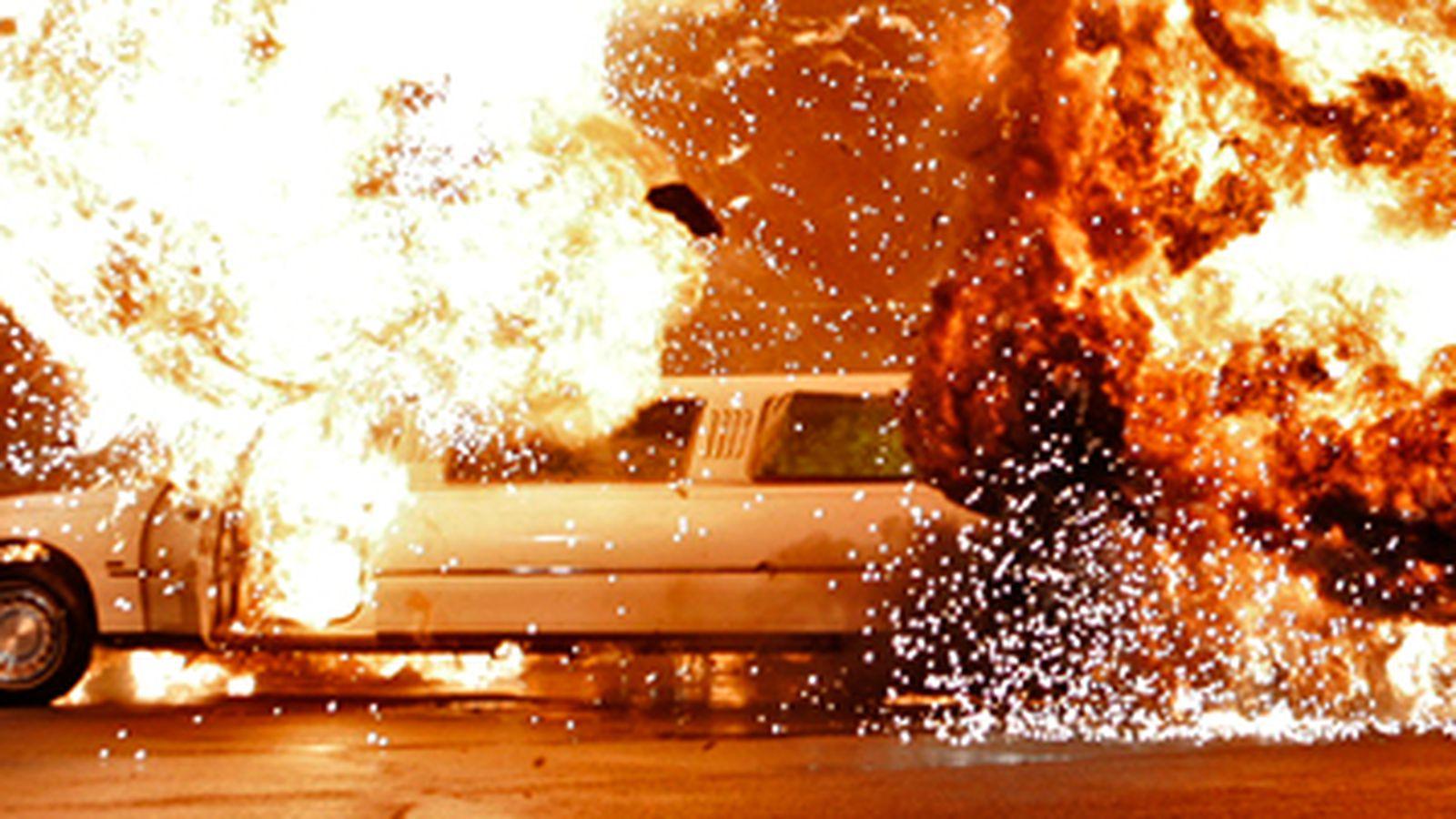 Vince McMahon Limo Explosion