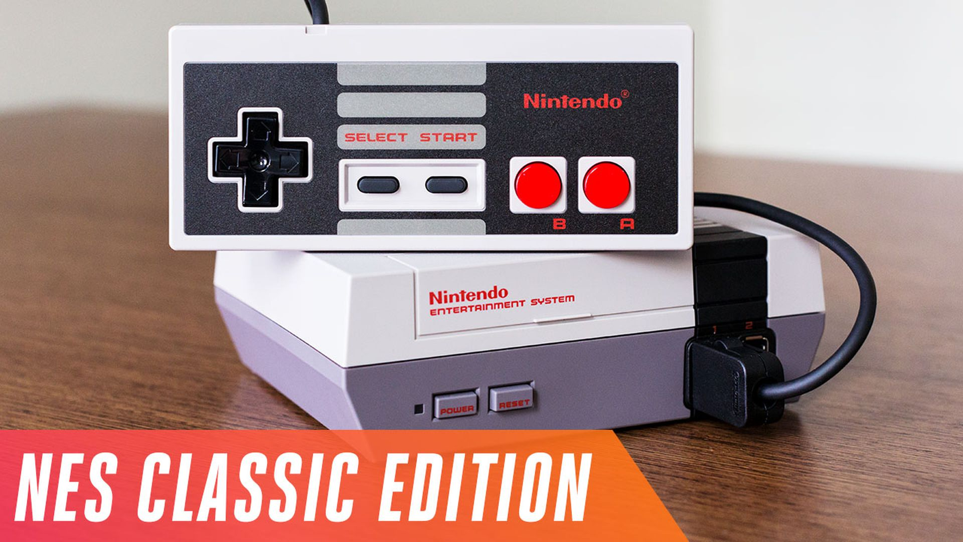 Nintendo Is Releasing A Miniature Nes With 30 Built In Games The Verge