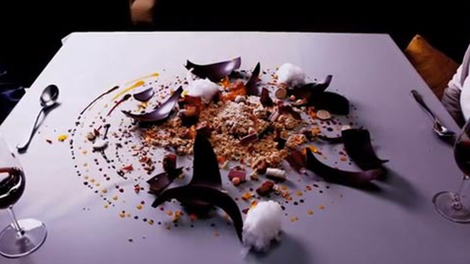 alinea introduces new chocolate pumpkin pie dessert eater chicago. Black Bedroom Furniture Sets. Home Design Ideas