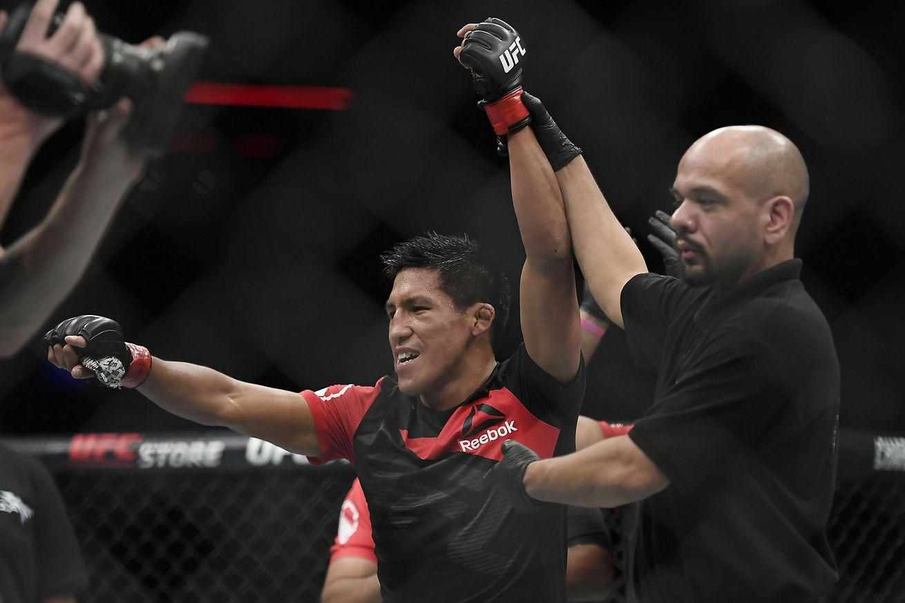 Enrique Barzola eyeing big fights, wants Renan Barao or Artem Lobov next
