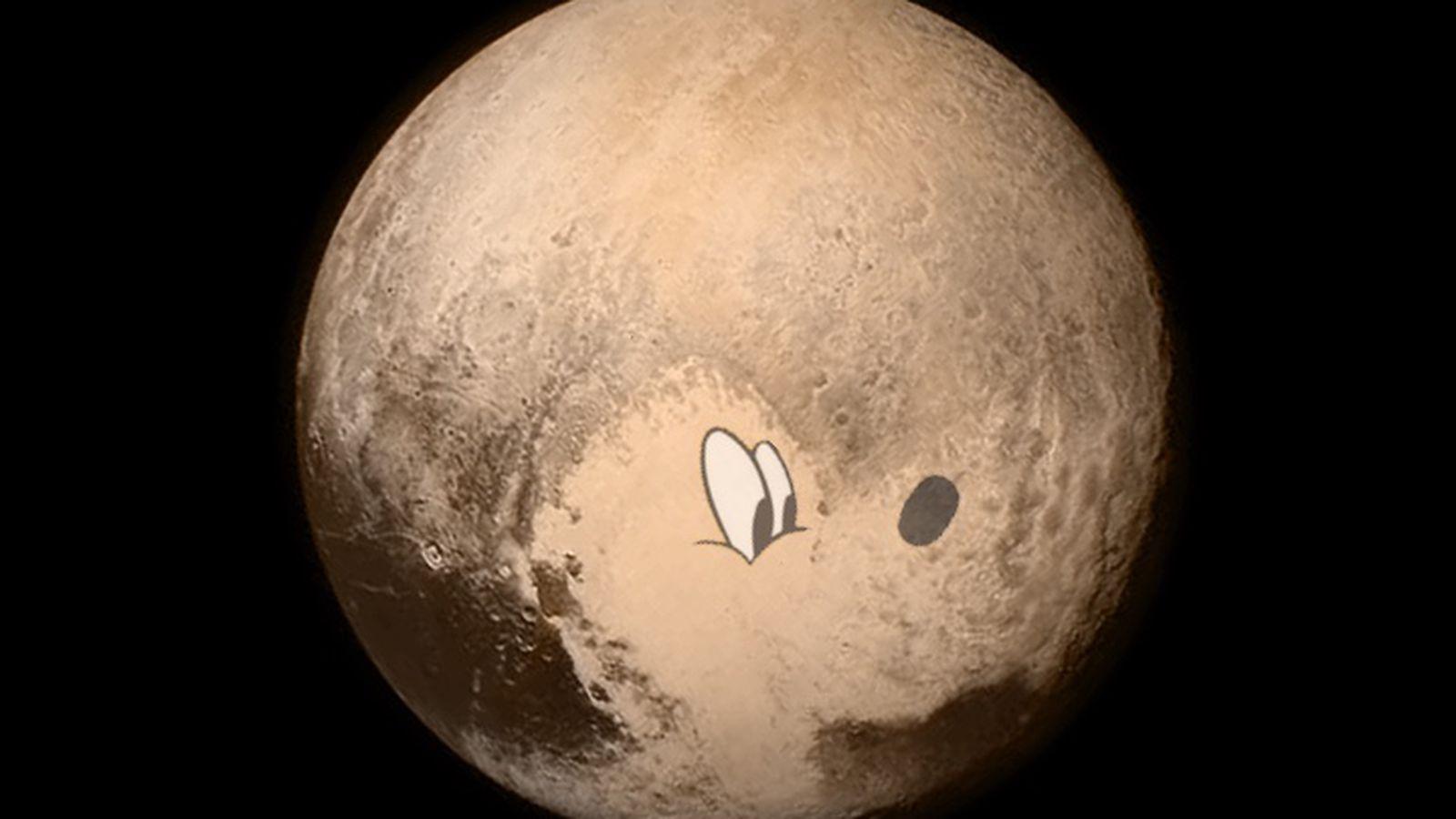 Die Erde, in der wir leben und der Raum, der die Welt ist - Seite 16 Pluto_on_pluto_better.0.0