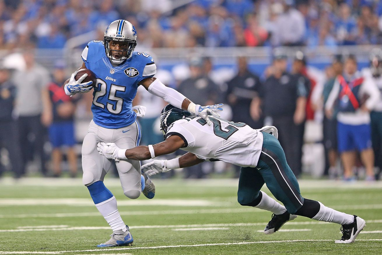 NFL Jerseys Wholesale - Lions notes: Theo Riddick to have high school field named after ...