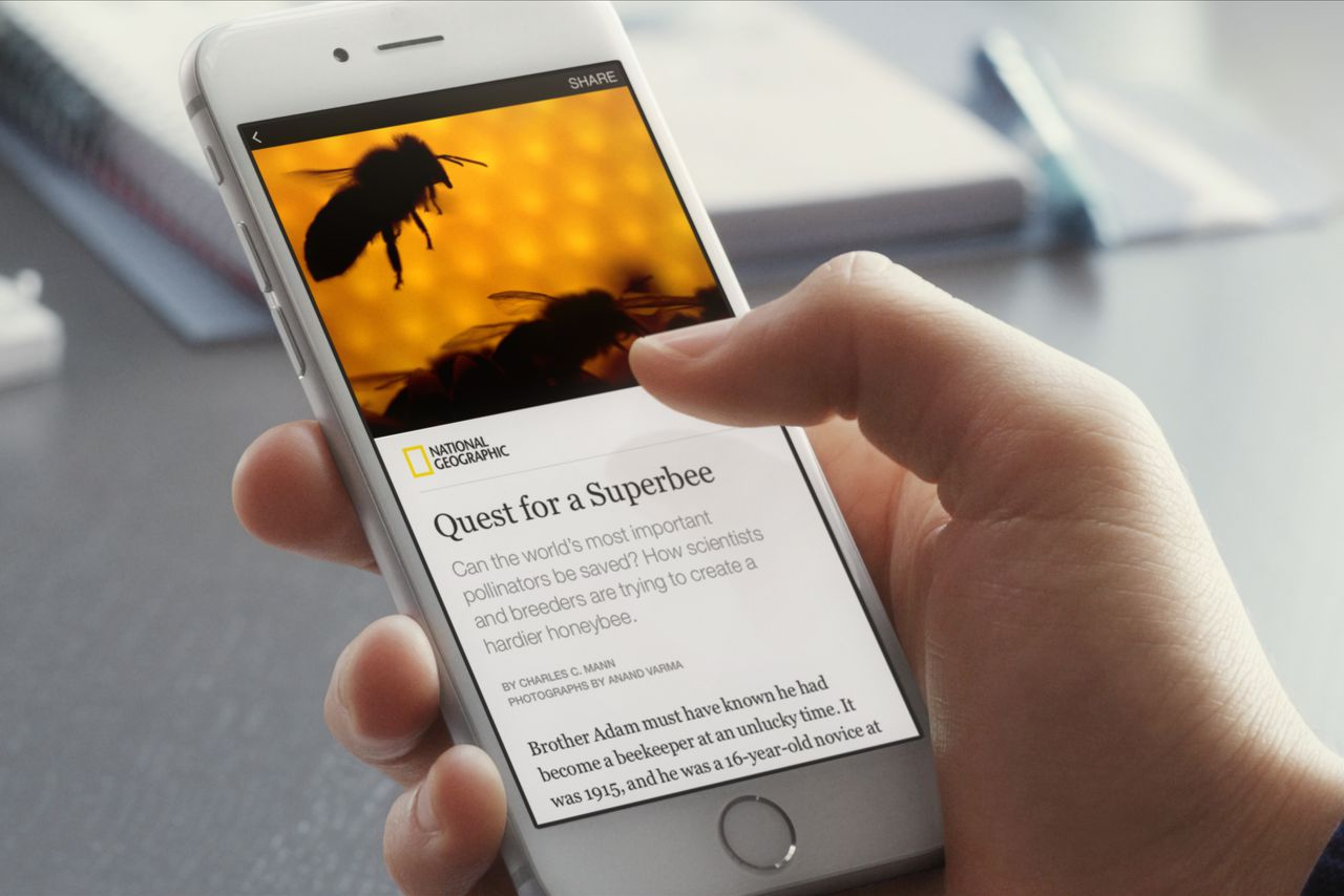 Facebook is opening Instant News Articles to all Publishers