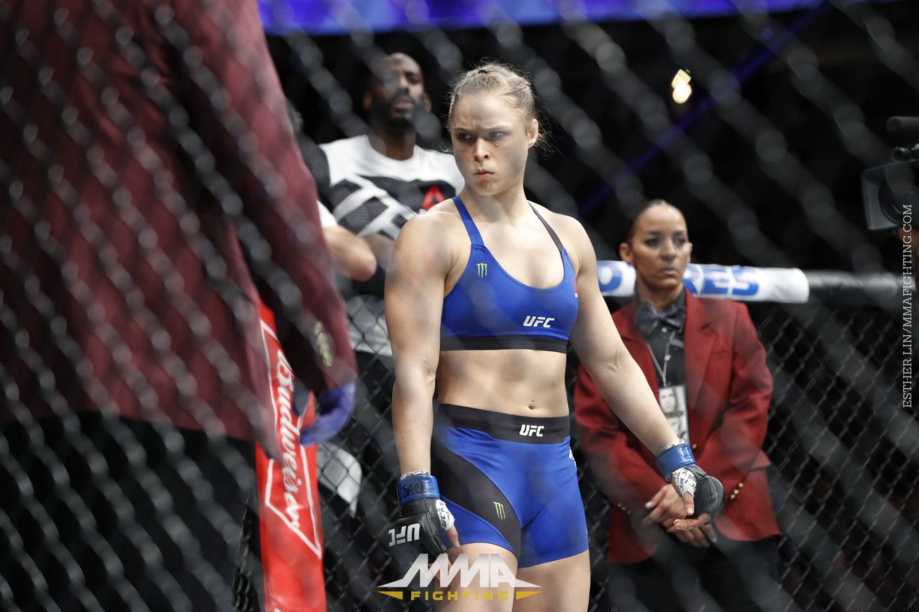 community news, Dana White on prospect of Ronda Rousey ever fighting again: 'I think she's probably done'