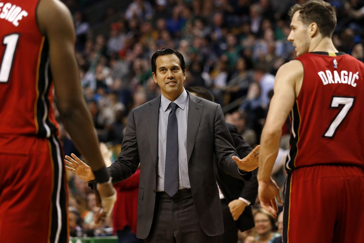 Miami Heat's Erik Spoelstra a finalist for NBA Coach of the Year