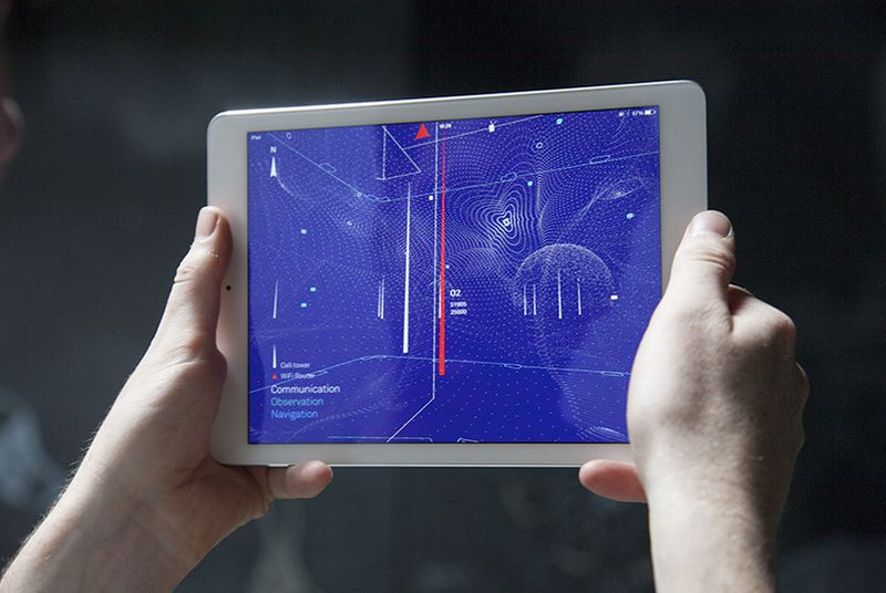 See the invisible wireless signals around you with this augmented reality app