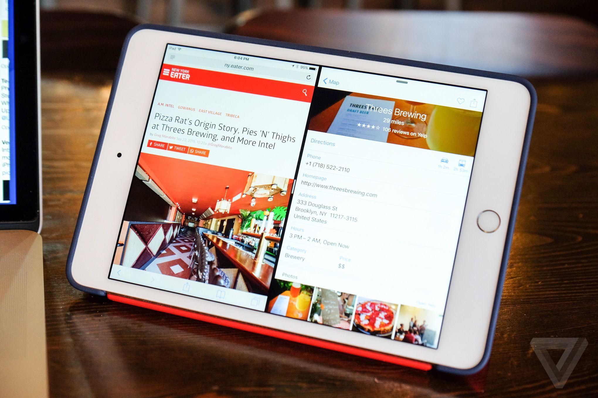 Apple iPad mini 4 review | The Verge