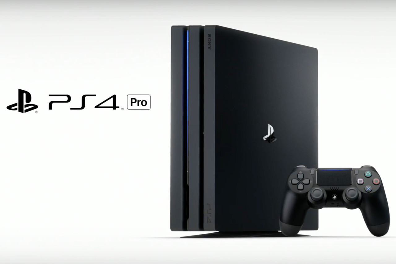 sony announces playstation 4 pro with 4k hdr gaming for. Black Bedroom Furniture Sets. Home Design Ideas