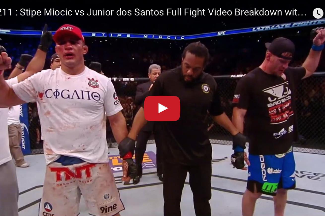 junior dos santos vs fabricio werdum full fight