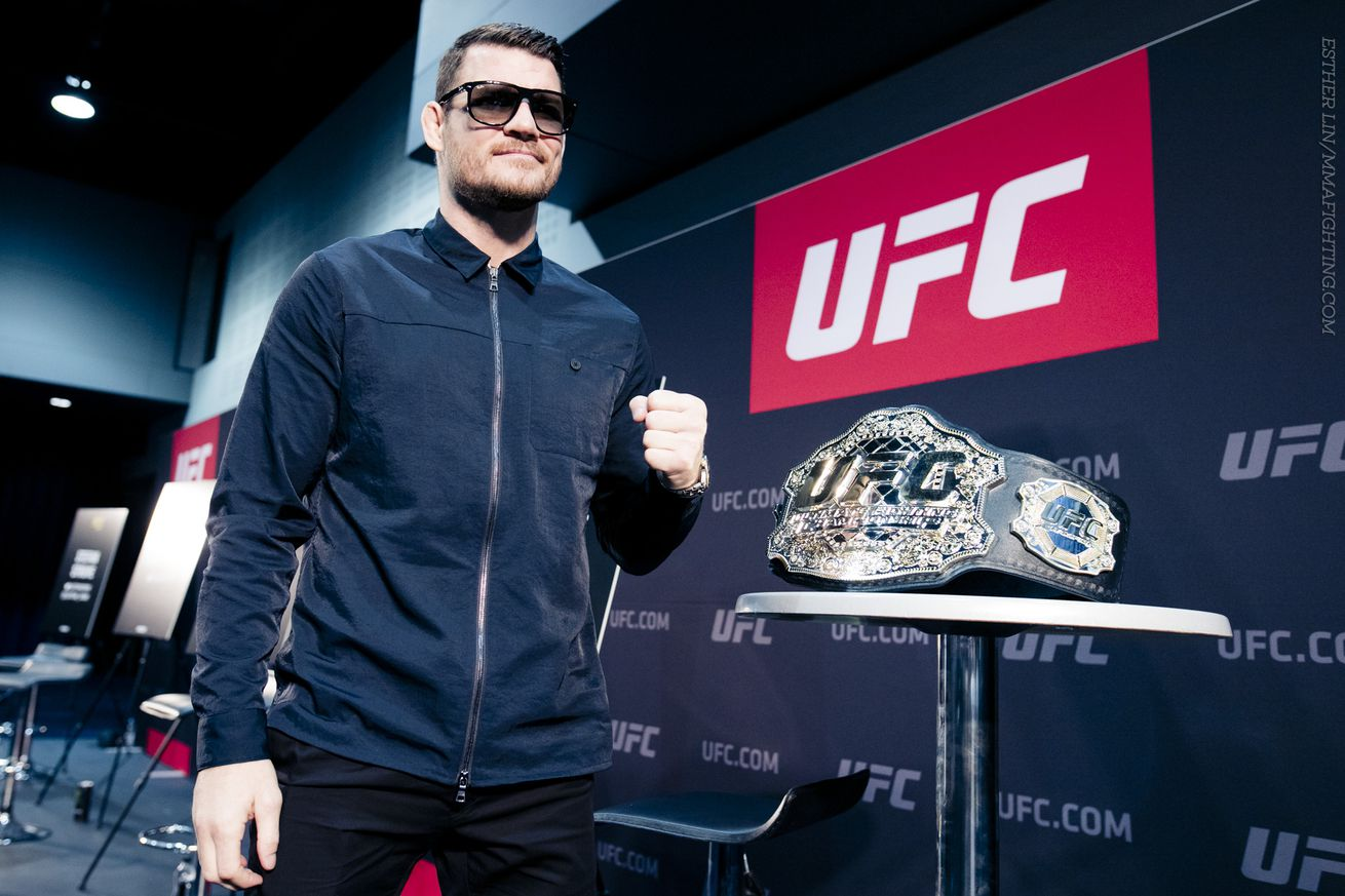 MMA Fighting's 2016 Upset of the Year: Michael Bisping knocks out Luke Rockhold