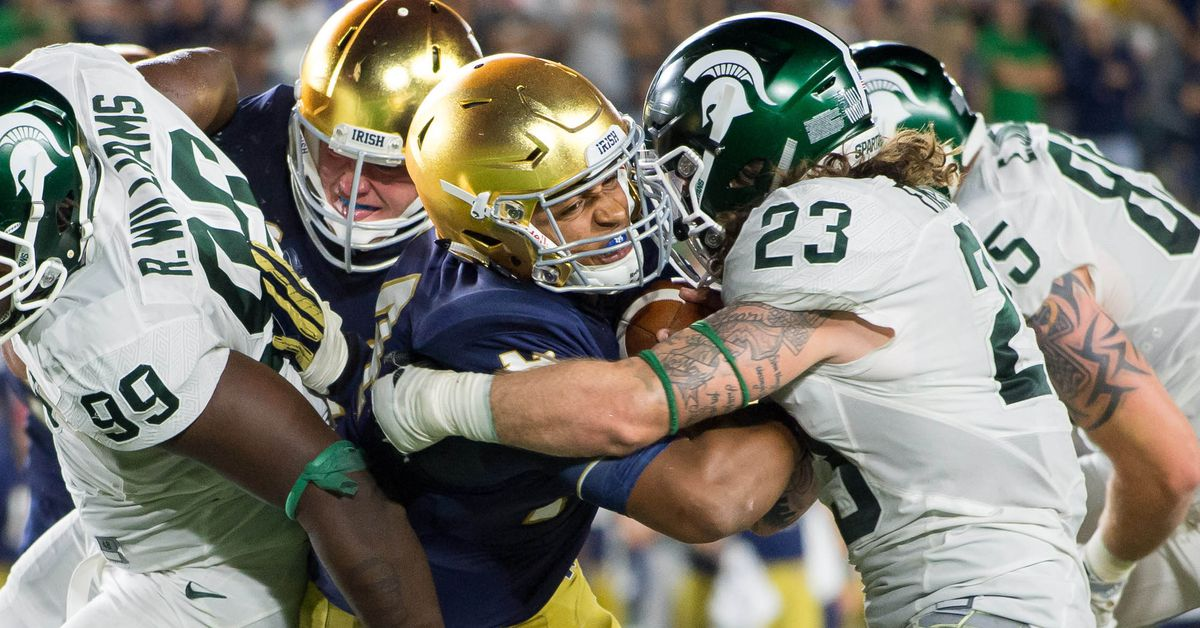 Notre Dame Football: Michigan State Spartans Game Preview ...