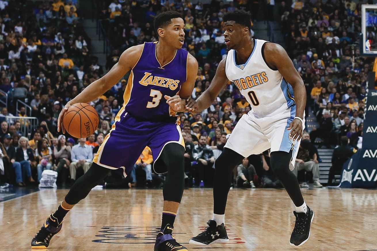 NFL Jerseys Online - Anthony Brown is the Lakers' biggest question mark after Las Vegas ...