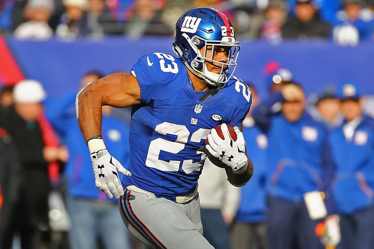 ELITE New York Giants Rashad Jennings Jerseys