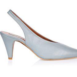 """Topshop <a href=""""http://us.topshop.com/en/tsus/product/shoes-70484/heels-70512/jemma-point-mid-court-shoes-6197832?bi=80&ps=20"""">Jemma Mid Court Shoe</a>, $100"""