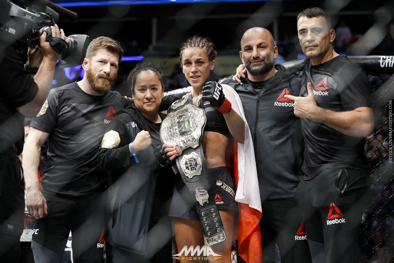 community news, UFC 211 Aftermath: Joanna Jedrzejczyk chases history