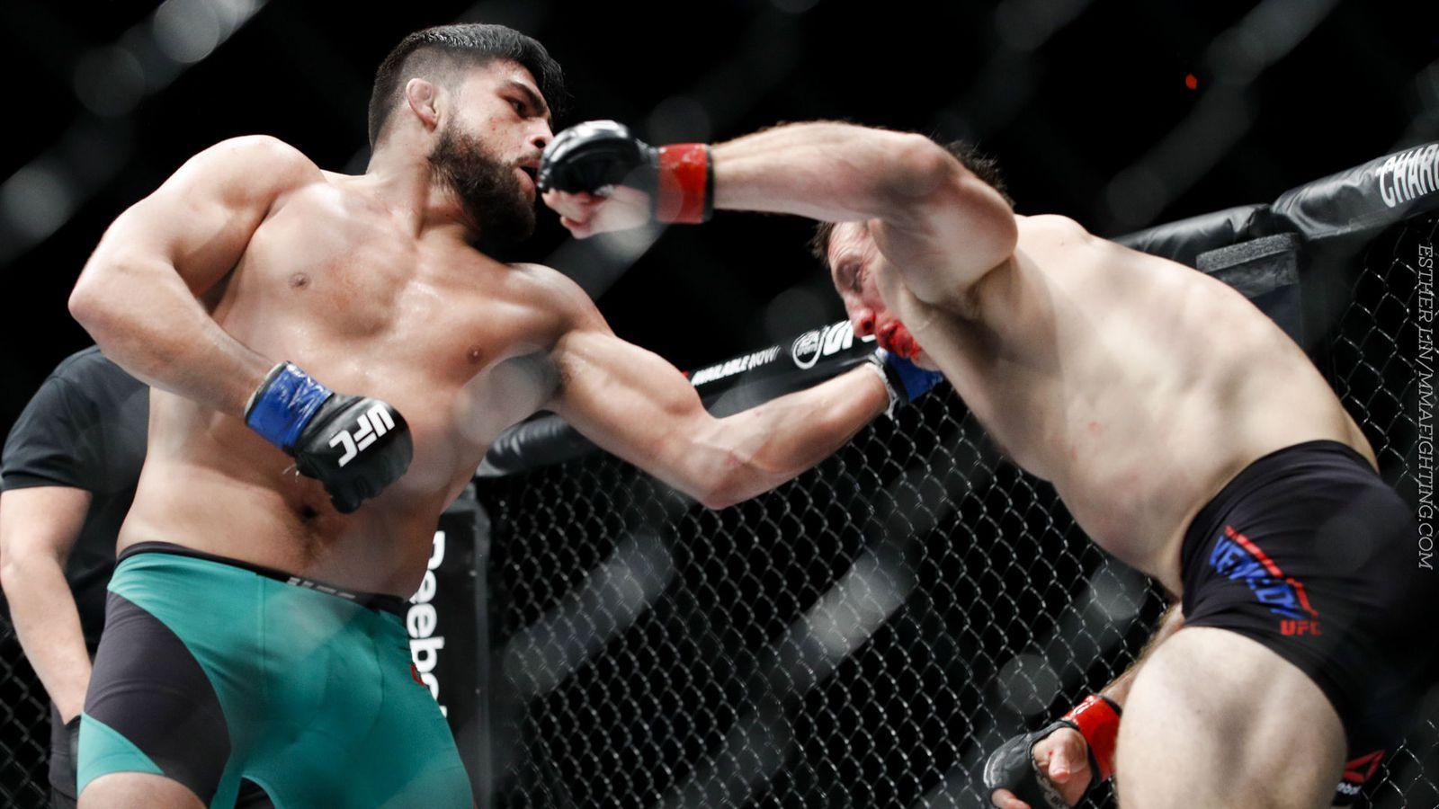 Mma fight cindy vs headgear guy 8