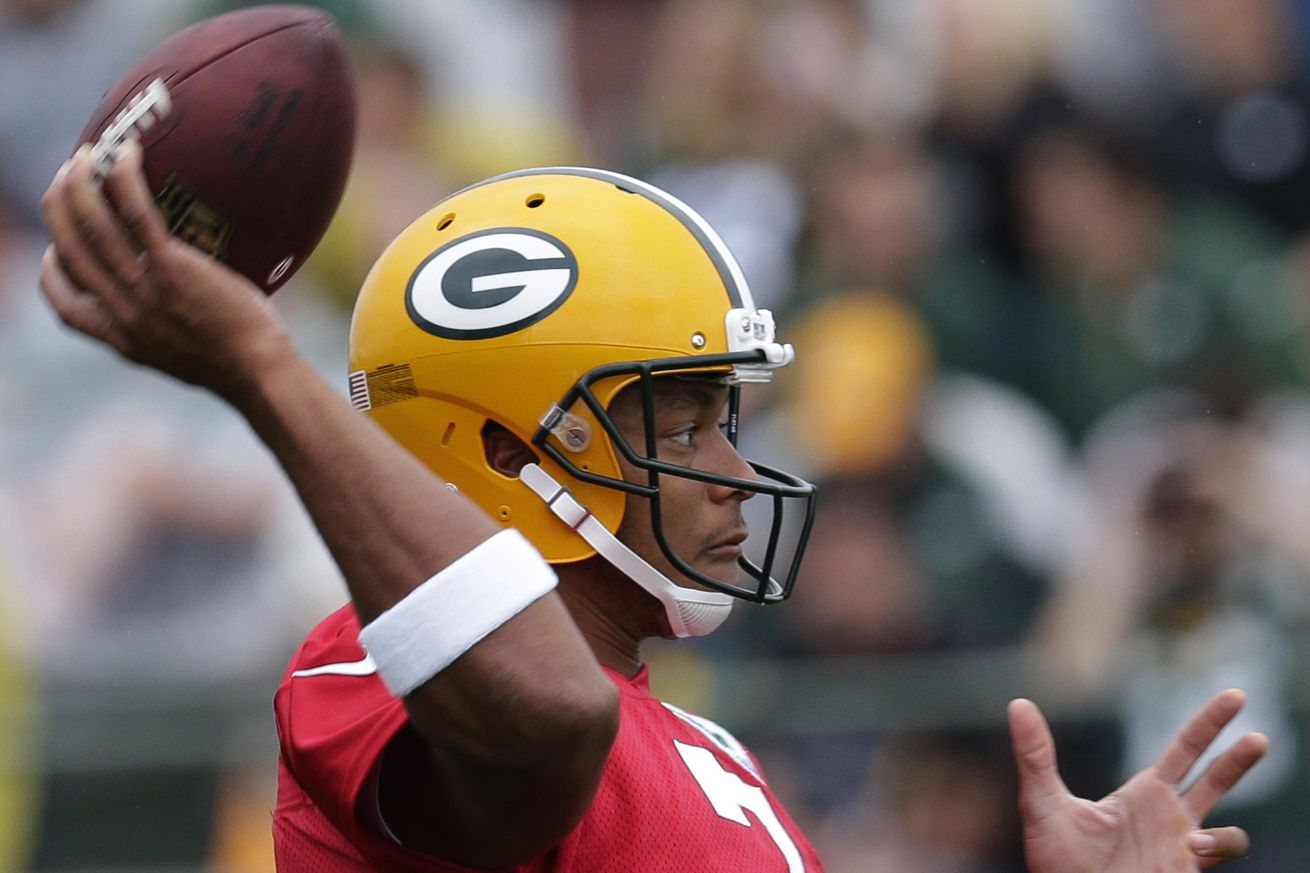 NFL Jerseys Official - Cheese Curds, 8/4: Brett Hundley sits, Ty Montgomery sheds light ...