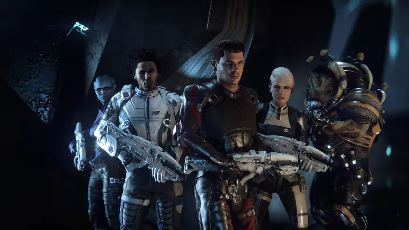 Mass Effect: Andromeda pirates won't get the game's new faces