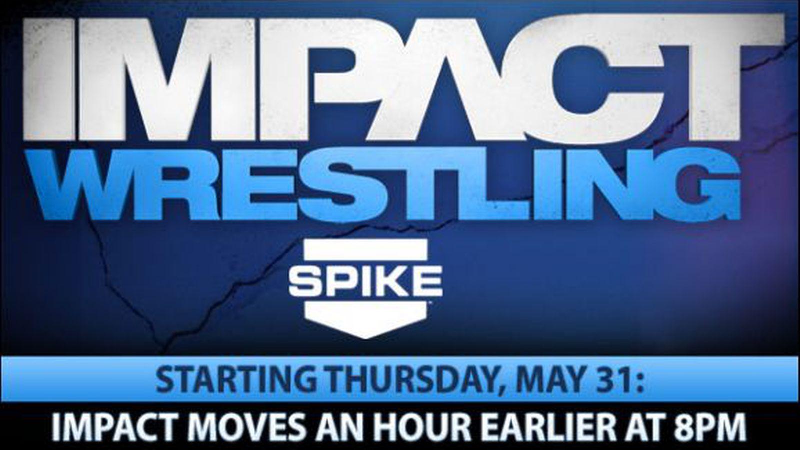 Tna impact time slot