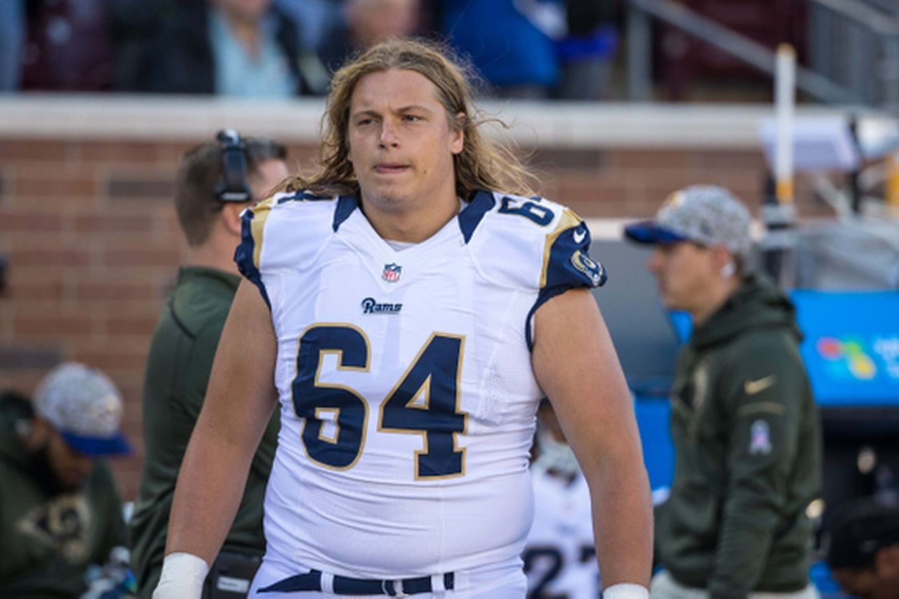 Nike jerseys for wholesale - 2016 Rams Roster Preview: OL Andrew Donnal Looking to Stick as ...
