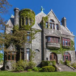 A Romanesque revival house in Albany.